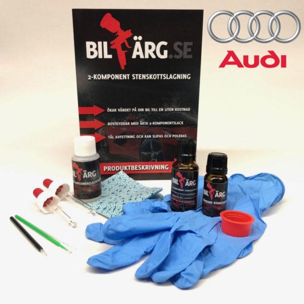 Lakkstift til Audi