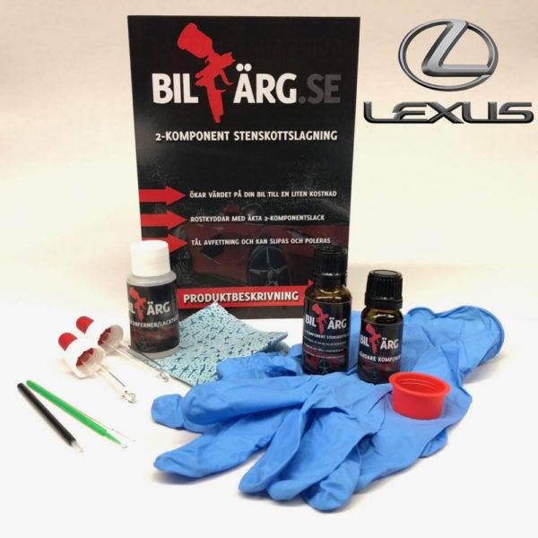 Lakkstift til Lexus