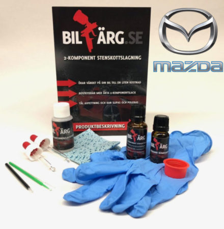 Lakkstift til Mazda