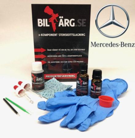 Lakkstift till Mercedes Benz